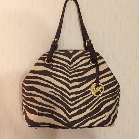 e6b49eed46925d Michael Kors Bags | Animal Print Handbag Nwot | Poshmark